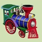 Hallmark Yule Express 2004 Keepsake Ornament QLX7644