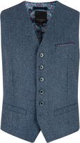 Ted Baker Nubwai Wool Blend Button Waistcoat