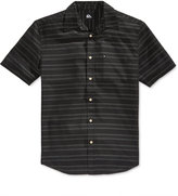 Quiksilver Men's Seajam Stripe Short-Sleeve Shirt