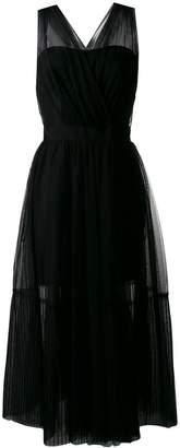 Pinko tulle overlay dress