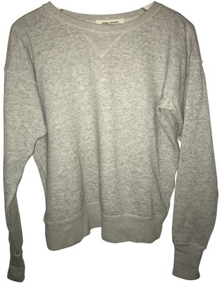 Isabel Marant Pour H&m Grey Cotton Top for Women