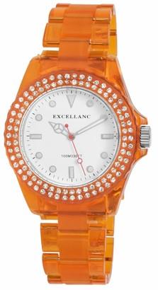 Excellanc Womens Analogue Quartz Watch with Plastic Strap 2.25184E+11