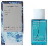 Korres KORRES For Him Water, Cedar and Lime Eau de Toilette 50ml