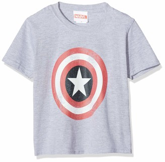 Marvel Girl's Avengers Captain America Distressed Shield Hoodie