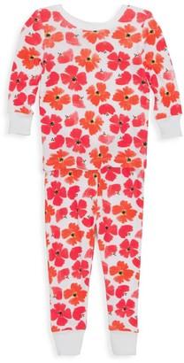 Aden Anais Baby's & Little Girl's 2-Piece Poppies Pajama Set