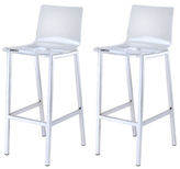 Clear Barstools (Set of 2)