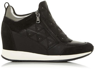 Geox D Nydame D Zip Wedge Trainers