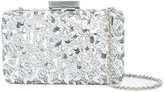 Oscar de la Renta Rogan sequin box clutch