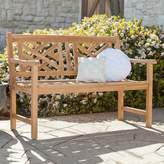 Southern Enterprises Jordan Chippendale Outdoor Bench