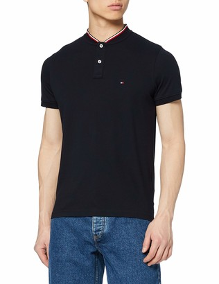 Tommy Hilfiger Men's Baseball Collar Slim Polo Shirt