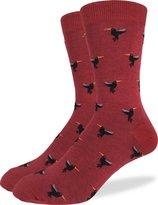 Good Luck Sock Men's Hummingbirds Crew Socks