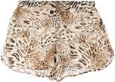 Philipp Plein patterned shorts - women - Silk - M
