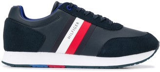 Tommy Hilfiger Stripe Detail Low Top Sneakers