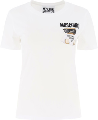 Moschino Teddy Bear Embroidery T-shirt