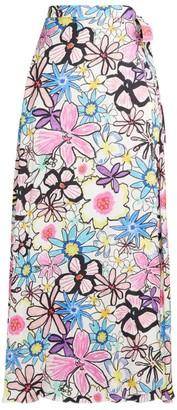 Mira Mikati Flower Power Maxi Skirt
