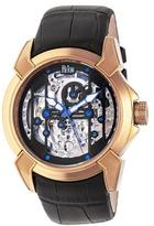 Reign Optimus Collection REIRN3806 Men's Rose Gold Stainless Steel Automatic Watch