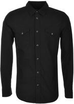 True Religion Jake Western Shirt Black