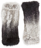 Eugenia Kim Women's Fur Elodie Fingerless Gloves-GREY