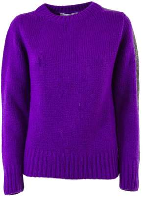Fabiana Filippi Purple Wool Pullover