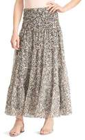Lauren Ralph Lauren Petite Four-Tier Floral Printed Maxi Skirt