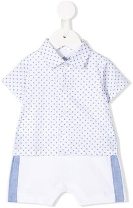 Aletta Star Print Bodysuit