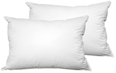 """Hotel Laundry """"Never Goes Flat"""" Pillows (Set of 2)"""