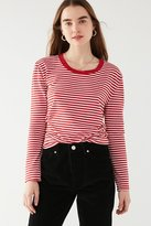 Truly Madly Deeply Striped Long Sleeve Tee