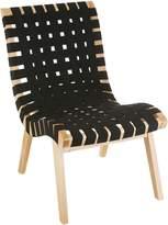Zanui Moroccan Bazaar Carmack Occasional Chair, Black