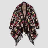 Say What Girls' Aztec Fringe Sweater