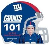 NFL Board Books New York Giants 101 - Board Book