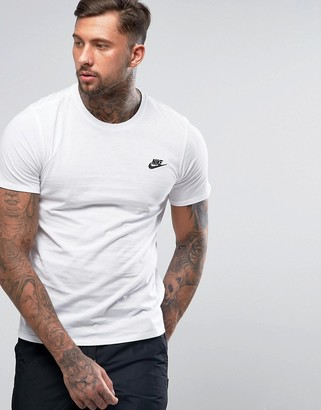 Nike futura t-shirt in white 827021-100