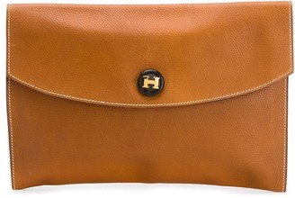 Hermes 1977 pre-owned Rio clutch