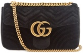 Gucci GG Marmont medium quilted-velvet cross-body bag