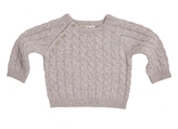 Marie Chantal Marie-Chantal Baby Cashmere Cable Sweater