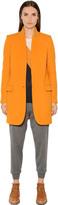 Stella McCartney Wool Blend Melton Coat