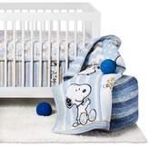 Peanuts 4-Piece Crib Bedding Set - My Little Snoopy