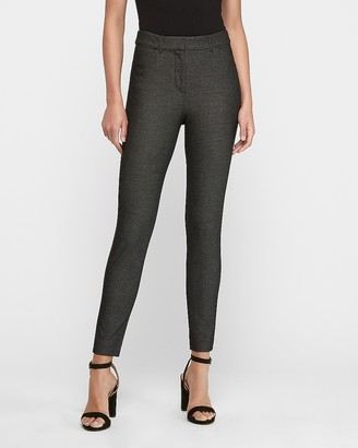 Express High Waisted Textured Skinny Pant