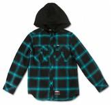 No Fear Boys' Hooded Flannels