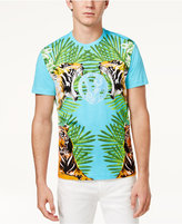 Versace Men's Graphic Print Cotton T-Shirt