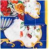 Dolce & Gabbana Majolica print scarf - women - Cotton - One Size