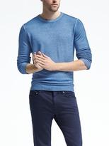 Banana Republic Garment-Dye Extra-Fine Merino Wool Pullover