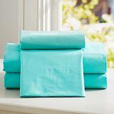 PBteen Classic Organic Extra Pillowcases, Set of 2, Gray
