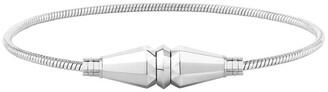 Boucheron 18kt white gold Jack de single wrap bracelet