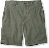 L.L. Bean Tropic-Weight Chino Shorts, Natural Fit Plain Front 9""