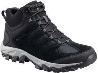 Columbia Men's Buxton Peak Mid Waterproof Breathable High-Traction Grip