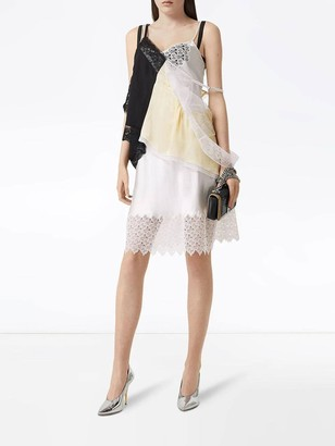Burberry Deconstructed Lace Top
