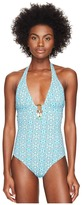 Letarte Halter One-Piece Women's Swimsuits One Piece