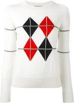 MAISON KITSUNÉ patterned jumper