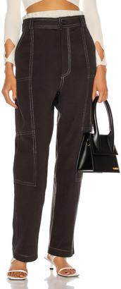 Jacquemus Le Pantalon Felix in Dark Grey | FWRD