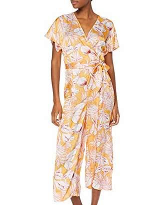 Glamorous Women's Floral Jumpsuit,8 (Size:8)